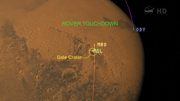 mars landing coverage - photo #16