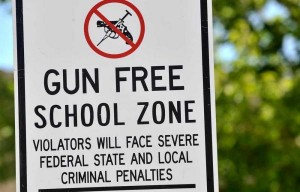 gun-free-school-sign