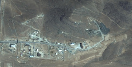 DigitalGlobe SEPT 2012 - Khondab secret nuclear facility