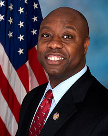 GOP Senator Tim Scott Appointed by GOP South Carolina Governor Nikki Haley