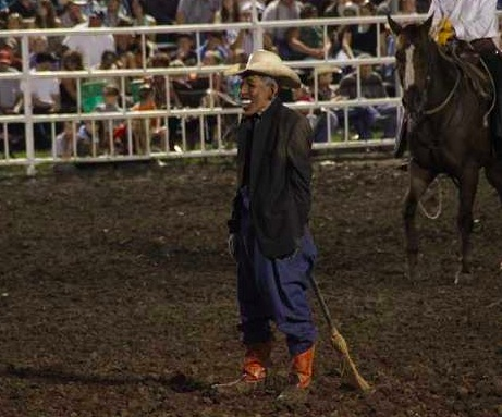 The Obama Rodeo Clown The Lamestream Media And Their