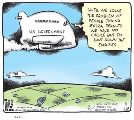 US Govt plane