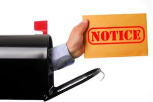 cancellation notice 300